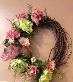Silk Wreath 22