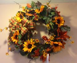 Silk Wreath 13
