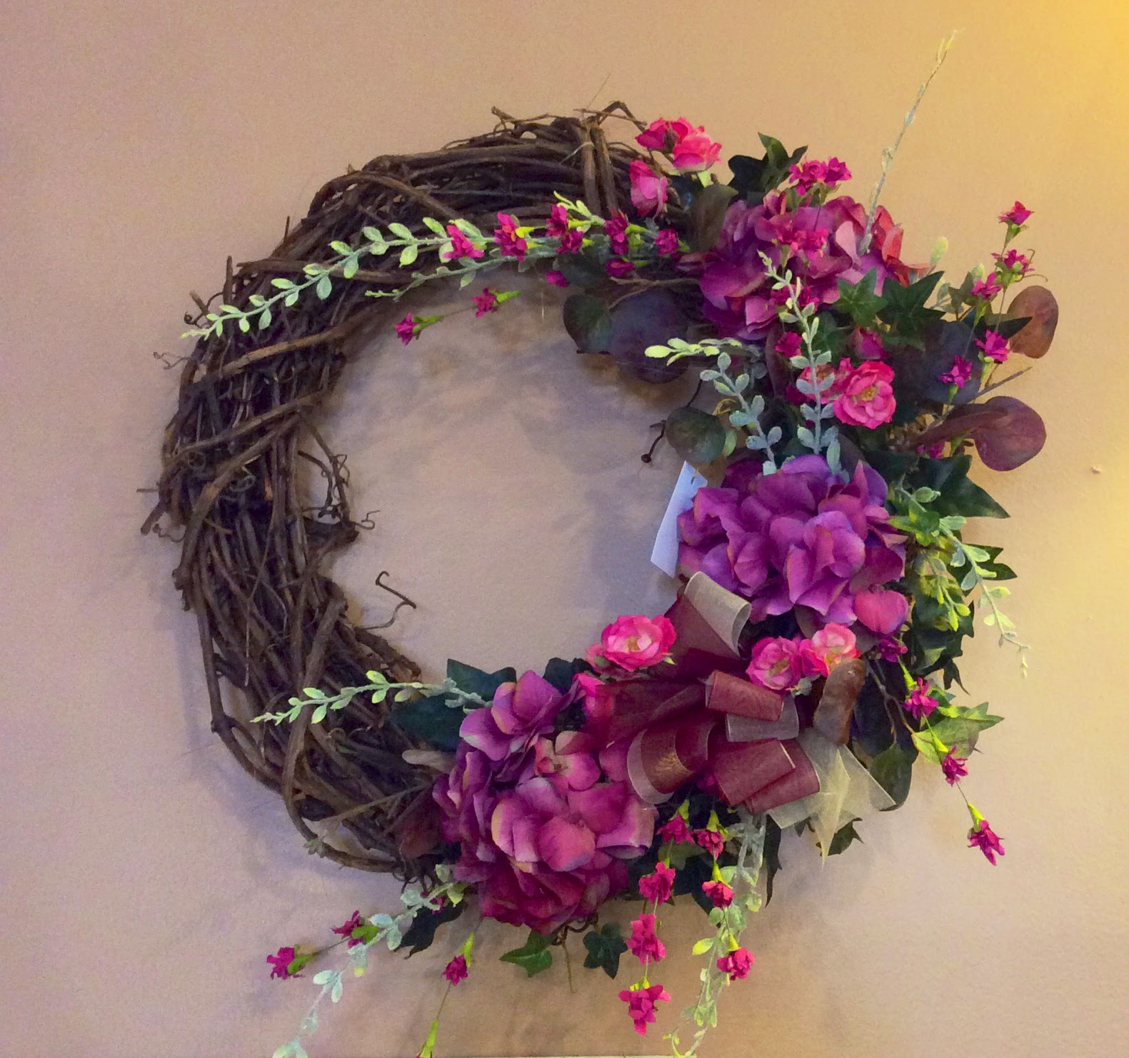 Silk Wreath 6