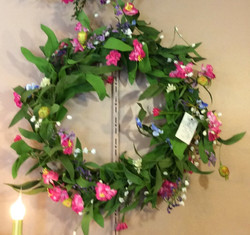 Silk Wreath 3