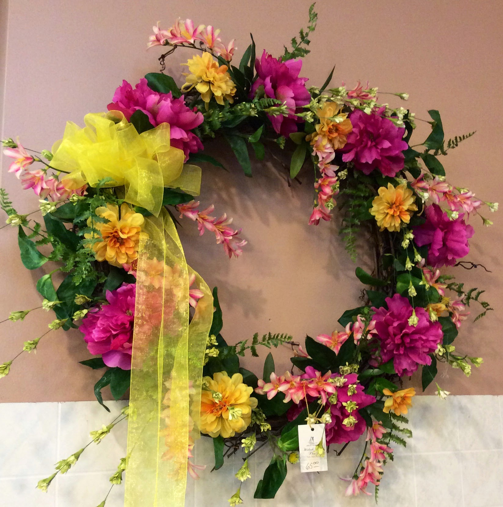 Silk Wreath 5