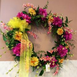 Silk Wreath 5