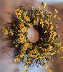 Silk Wreath 1