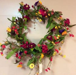 Silk Wreath 12