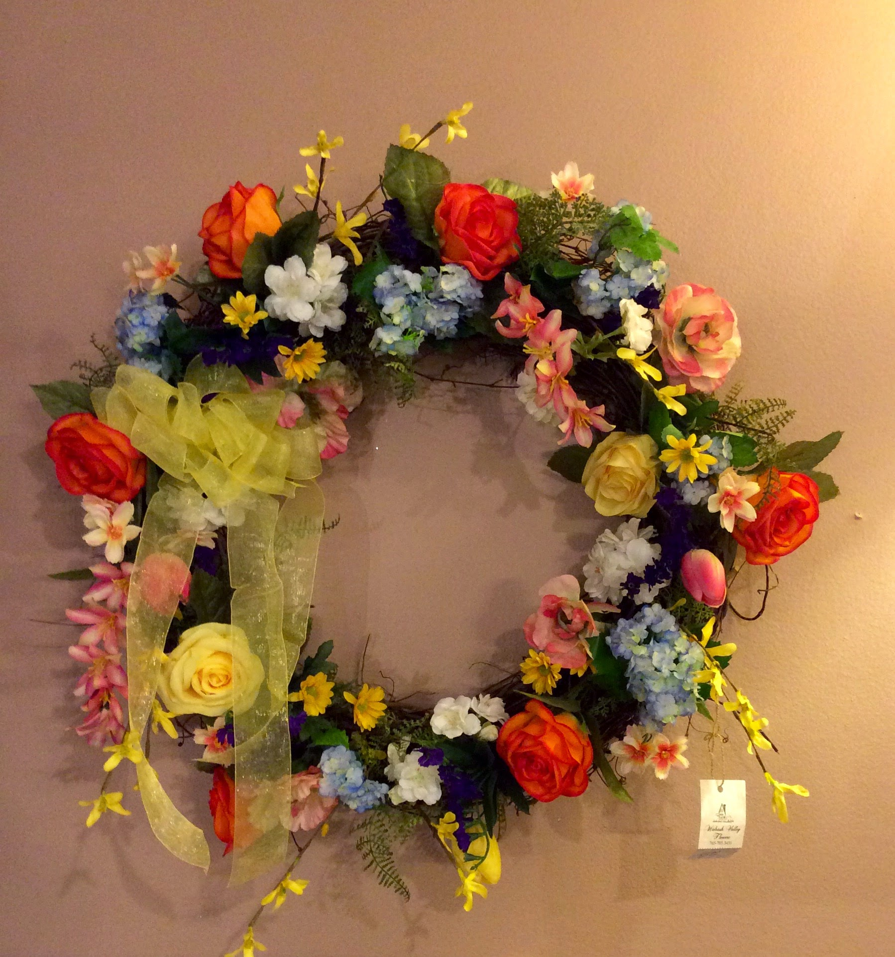 Silk Wreath 19