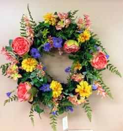 Silk Wreath 7