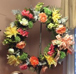 Silk Wreath 25