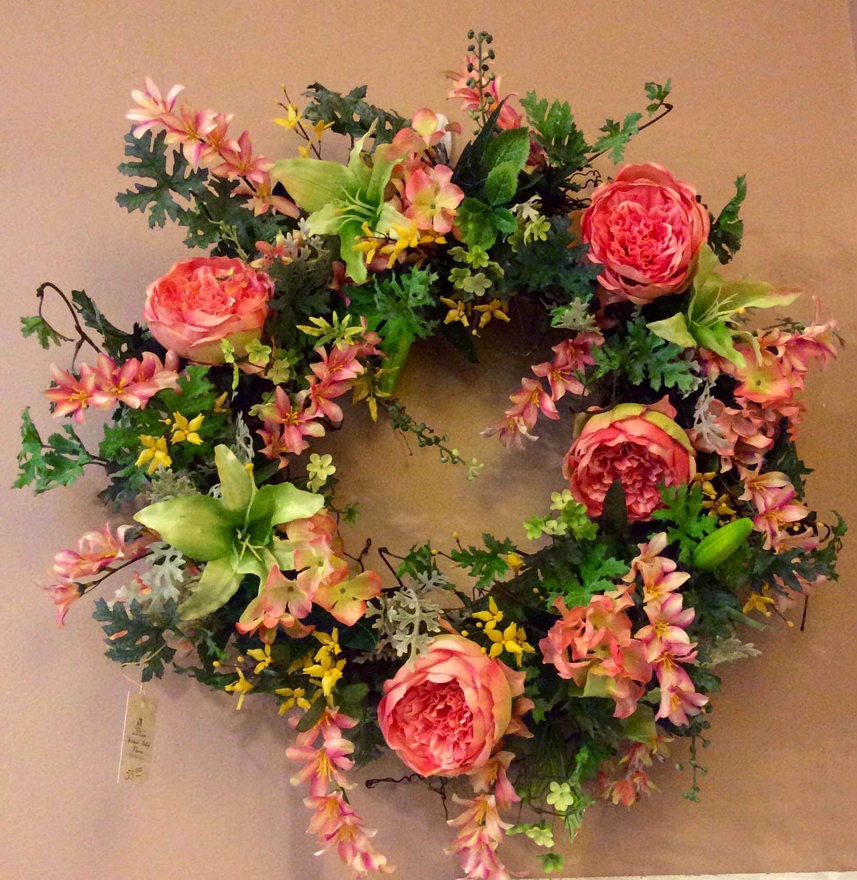 Silk Wreath 23