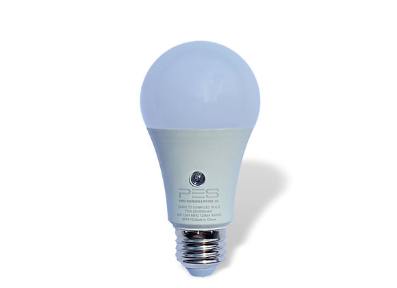 8W Dusk to Dawn LED Light Bulb