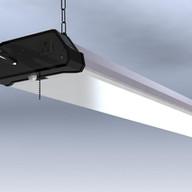 Motion Sensor LED shoplight