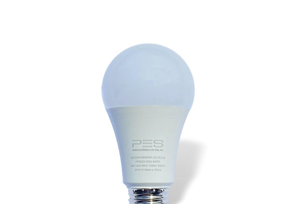 8W Motion Sensor LED Light Bulb