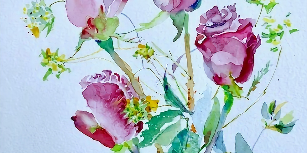 Janice Byer ft. Stained Glass Garden by Erica Strauss