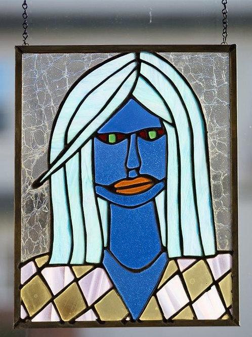 Aquamarine Haired Lady