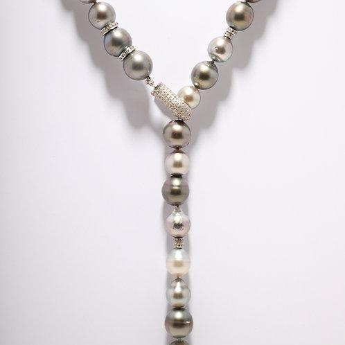 Tahitian Pearl Lariat Necklace