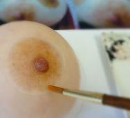 温泉入浴可能な人工乳頭をオーダーメイドで製作