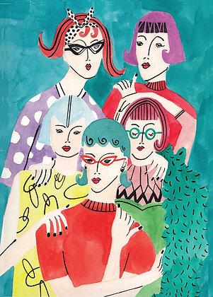 Vrouwen in kleur