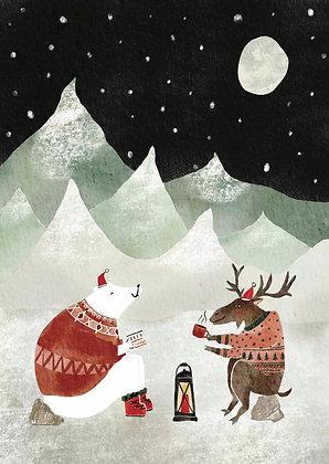 Kerst: Kampvuur