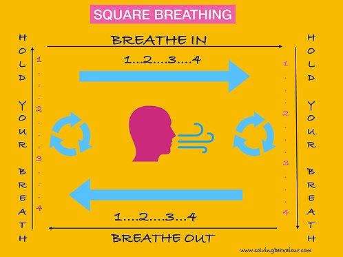 Square Breathing Visual