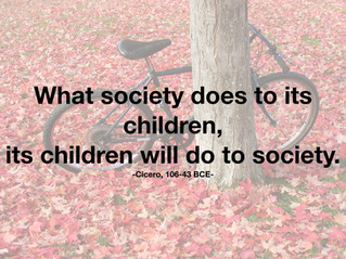 What is humanity? A question to ponder as school violence, negative behaviour and mental health issu