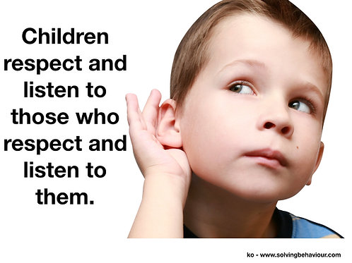Respect and Listen