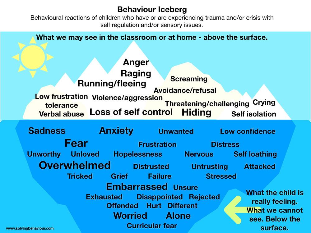 Solving behaviour Behavioural Iceberg