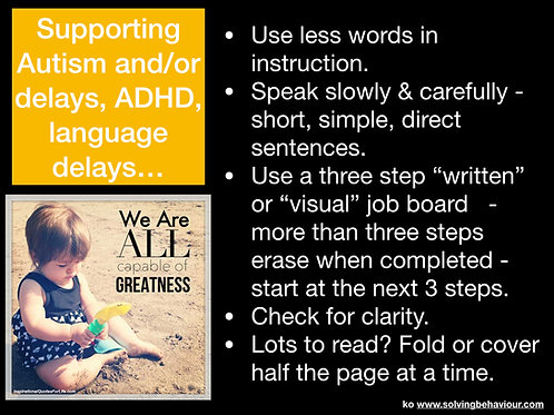 Supporting Autism, ADHD, or Language Delays
