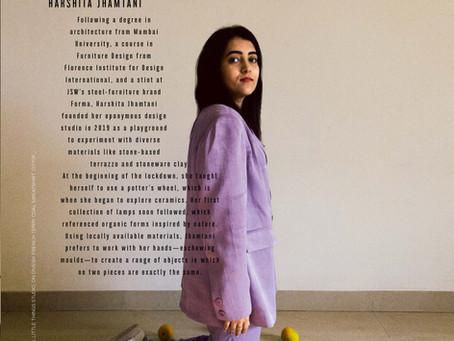 Architectural Digest India - Portrait Feature