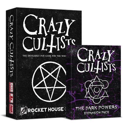 Crazy Cultists + The Dark Powers Expansion