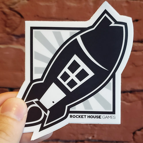 Rocket House Games Sticker