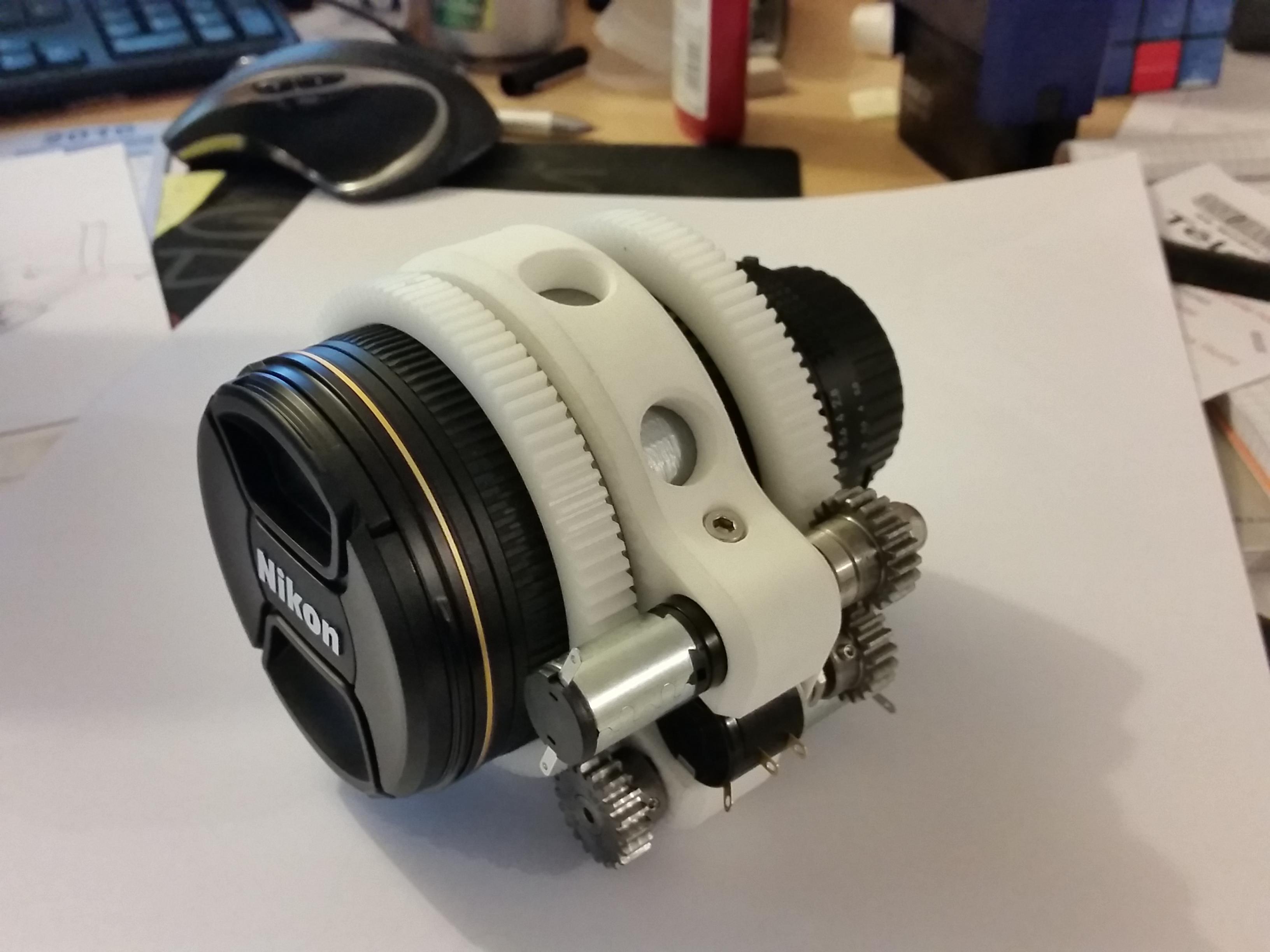 Pilotage objectif Nikon 17-35mm