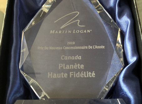Prix Du Nouveau Concessionnaire De L'Année au Canada!