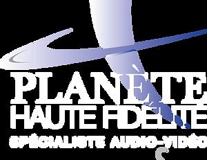 Logo Planète Haute Fidélité Spécialiste audio-vidéo