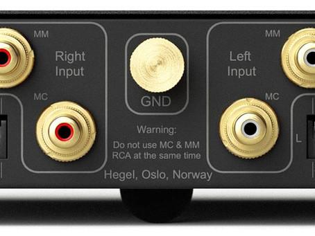 Le nouveau phono préamp de Hegel est arrivé!