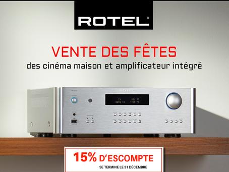 C'est le retour de la promotion Rotel!
