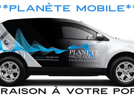 """Il y avait la """"Bat Mobile"""" c'est maintenant au tour de la """"Planète Mobile""""!"""