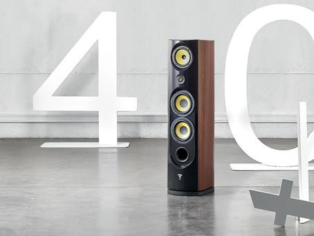 Focal Spectral 40th anniversaire disponible pour écoute chez Planète Haute-Fidélité.