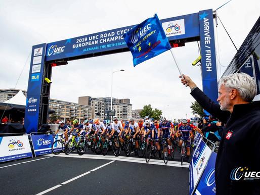 Hard crash at the European Championships 2019 in Alkmaar (NED)