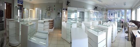 Balcões caixa, recepção e vitrine. Projetamos seu balcão em 3D!