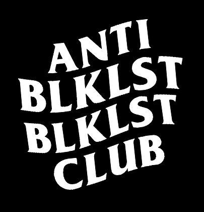 Anti BLKLST Decal