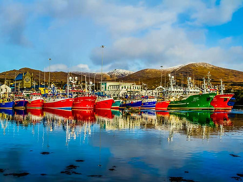 Castletownbere Fishing Boats