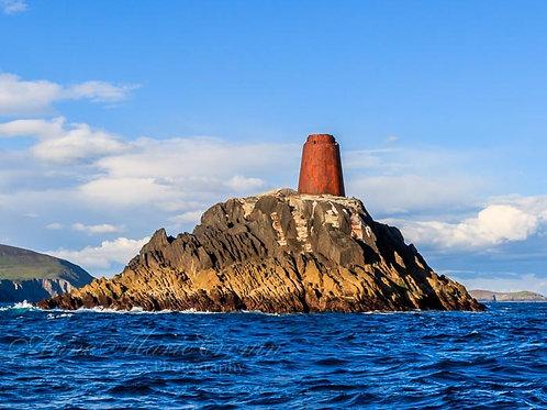 The Calf Rock & Lighthouse off Dursey Island, West Cork