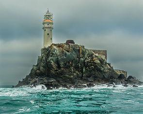 The Fastnet Rock, it's Irish name Carrai