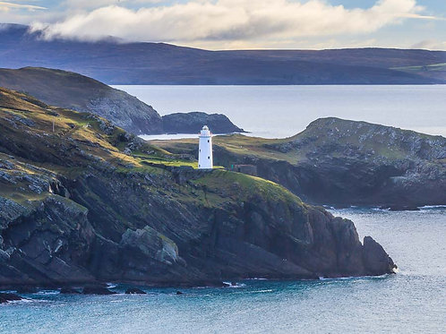 Ardnakenna Lighthouse at the mouth of Castletownbere Harbour