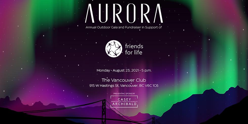 Aurora - Annual Outdoor Gala & Fundraiser