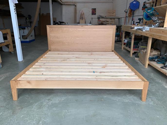 American Oak bedframe