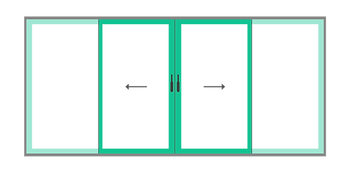 8. schuif hefpui basic - 2 delig schuifp