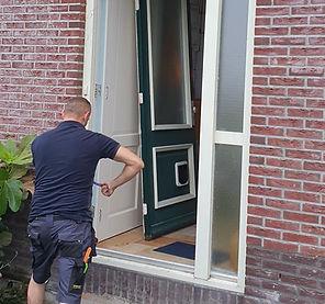 6. Deur vervangen voor aluminium deur -