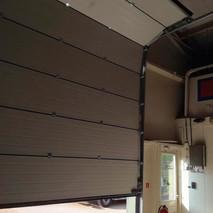 4 elektrische garagedeuren loodsen - MTM