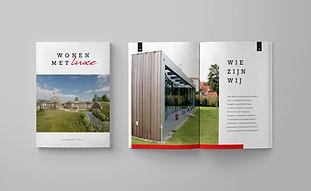 Magazine vormgeving - Bouwbedrijf Rijk -