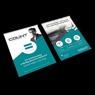 9. Flyer vormgeving en drukwerk Count Ka